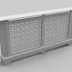 C01-02 White primed radiator cover