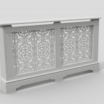 C03-2 white radiator cover