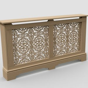 double radiator cover C03-02 mdf